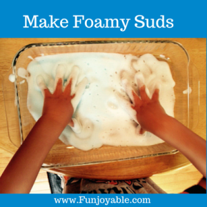 Rainy Day Activities for the Kids - Foam Suds!